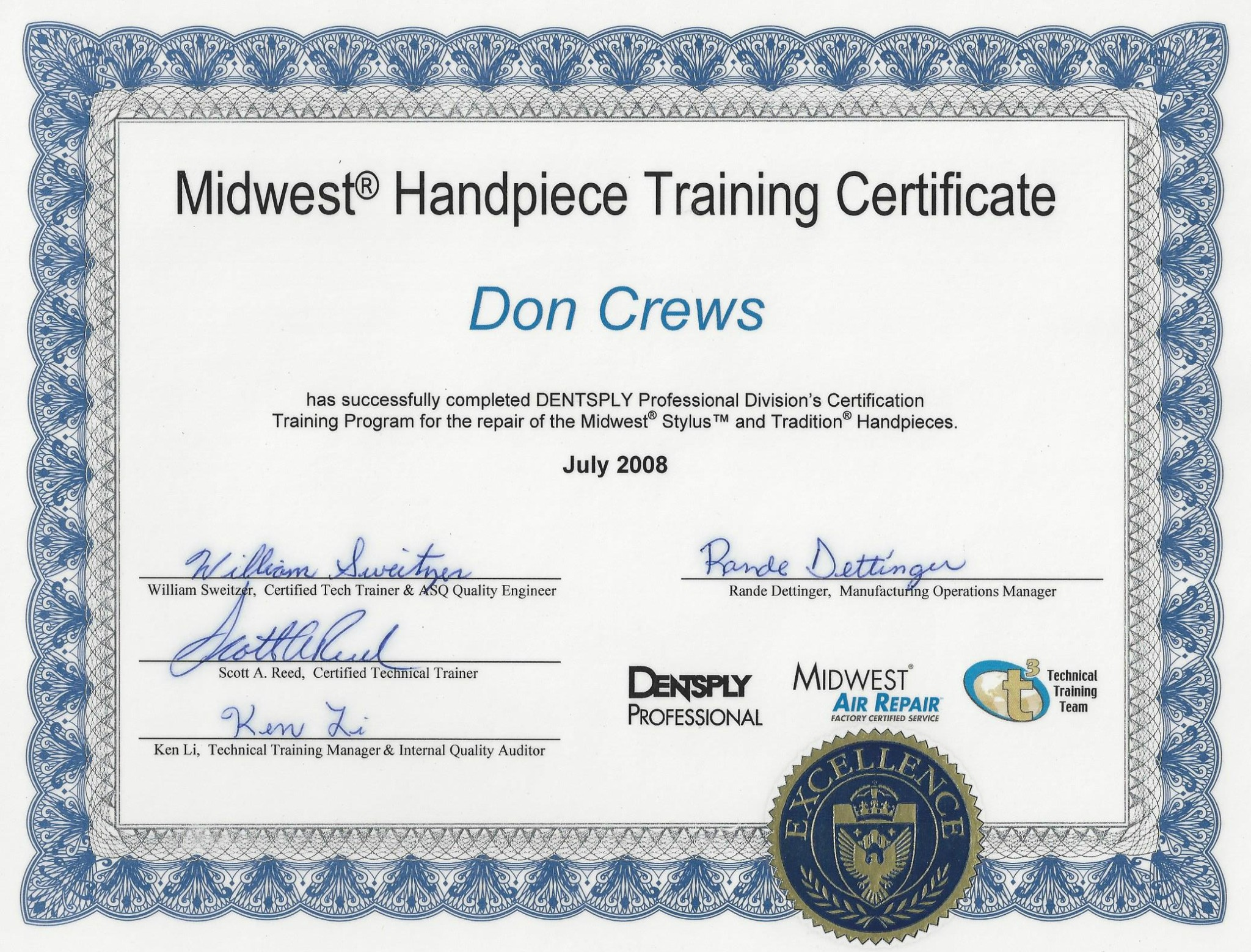 Midwest Certification